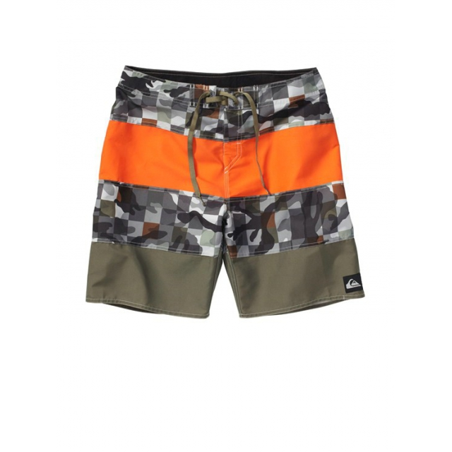 "Quiksilver - Men's Massive 19"" Boardshorts Haggis Camo Plaid 3"