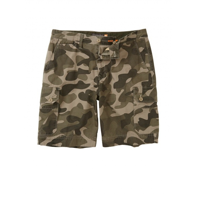 Quiksilver - Men's Squadron Shorts Cliff Camo 3