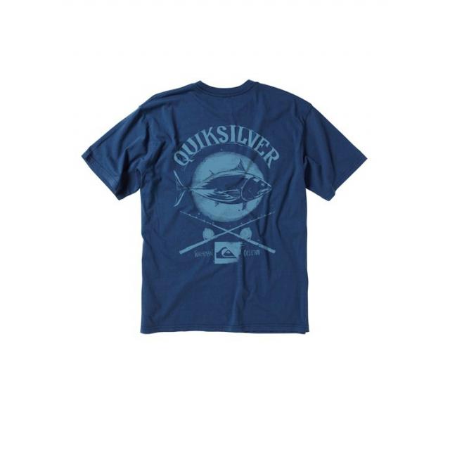 Quiksilver - Men's Tuna Crossing T-Shirt Scuba M