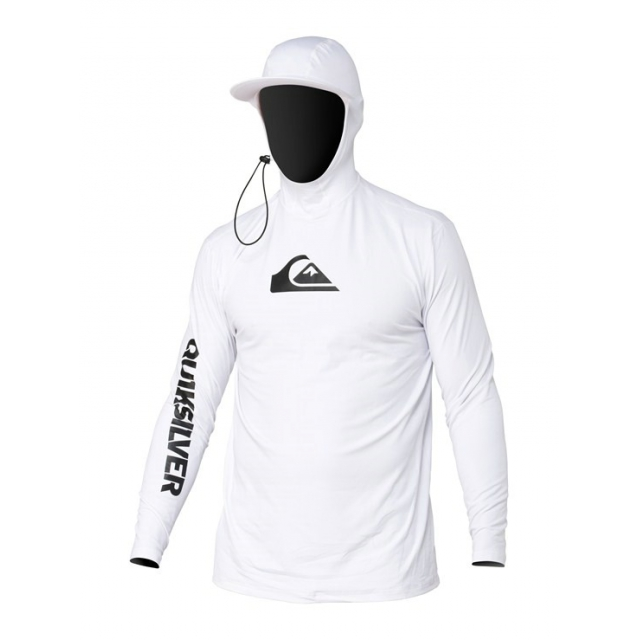 Quiksilver - Men's Shaded Hoodie Bright White
