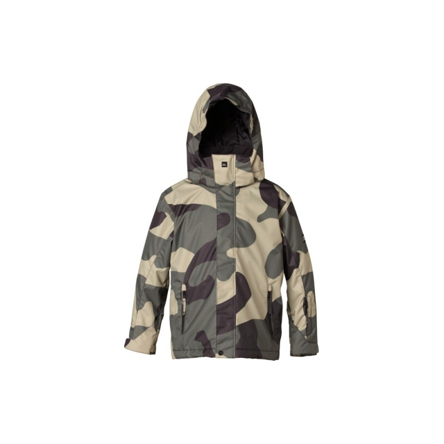 Quiksilver - Quiksilver Mission 10K Youth Print Jacket