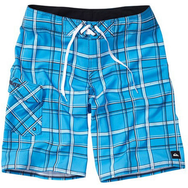 "Quiksilver - Paid In Full Boardshorts-22"" Mens - Blithe Plaid 28"