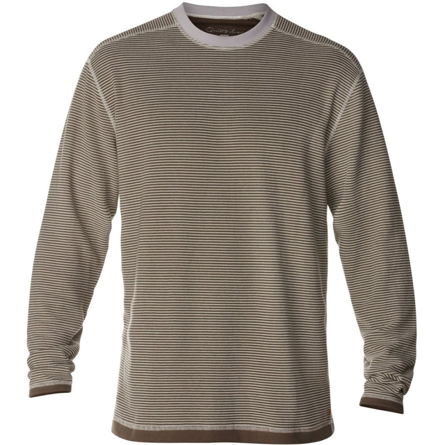 Quiksilver - Back Bay 2 Long Sleeve T-Shirt Mens - Bluestone S