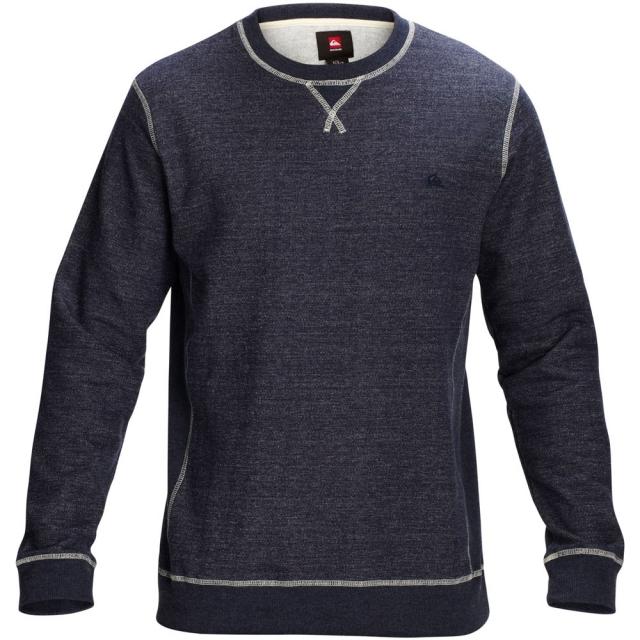 Quiksilver - Major Crew Pullover Sweatshirt Mens - Navy Blazer XL