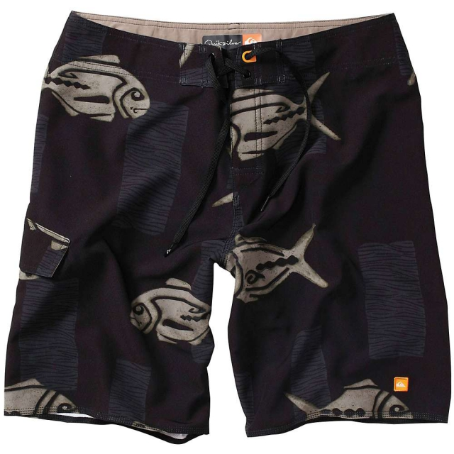 Quiksilver - Woodblock Boardshorts - Men's