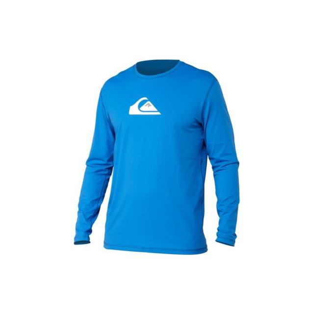 Quiksilver - Quiksilver Mens Solid Streak LS Surf Shir