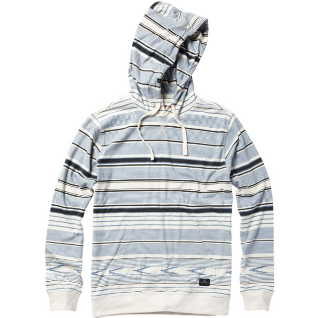 Quiksilver - Malloy Hooded Pullover Mens - Turtledove M