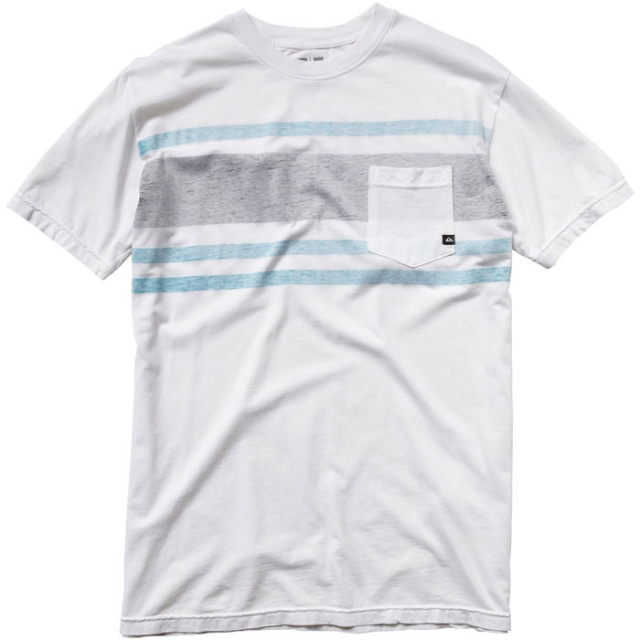 Quiksilver - Statistically Slim Fit Pocket T-Shirt Mens - Pristine M