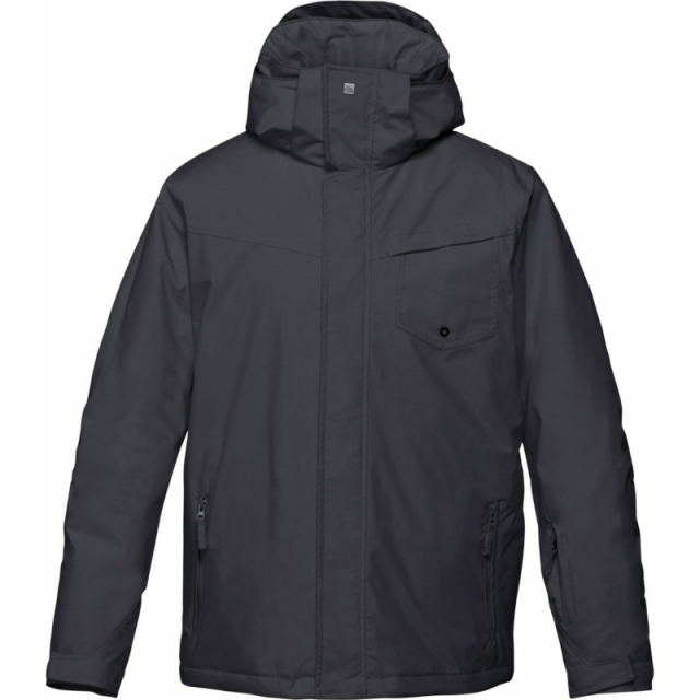 Quiksilver - Mens Mission Solid 10K Jacket - Sale Caviar Medium