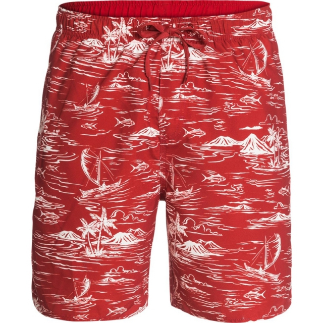 Quiksilver - Mens Seanic Volleys - Sale Firecracker XL