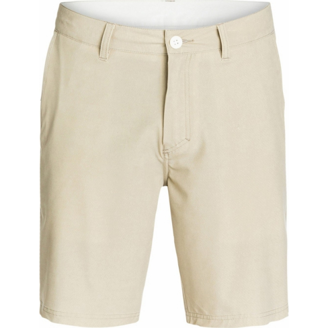 Quiksilver - Mens Washed 19 in Amphibian Shorts - Sale Plaza Taupe 36