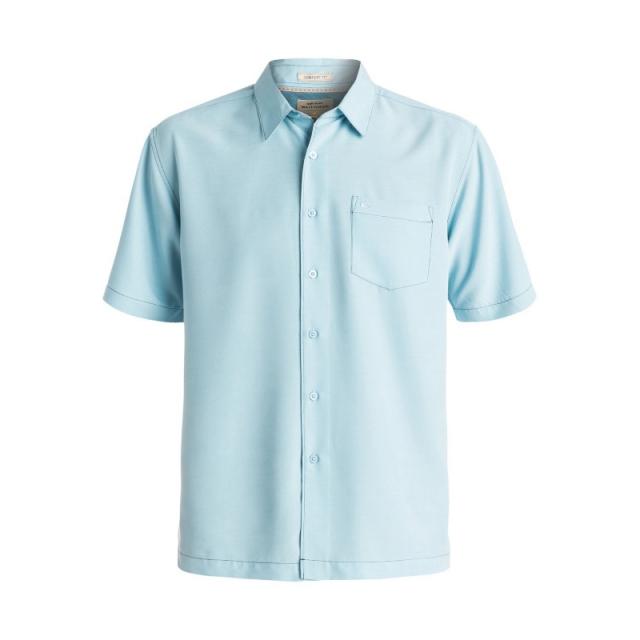 Quiksilver - Mens Clear Days Short Sleeve Shirt - Closeout Clean Air