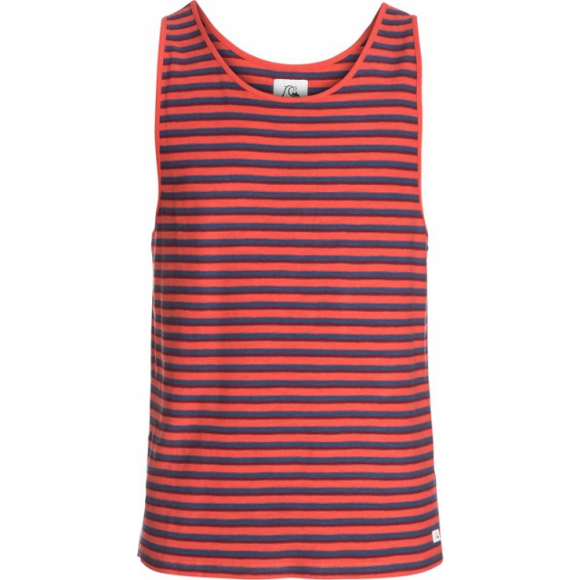Quiksilver - Mens Erith Modern Fit Tank - Closeout Baked Apple Small