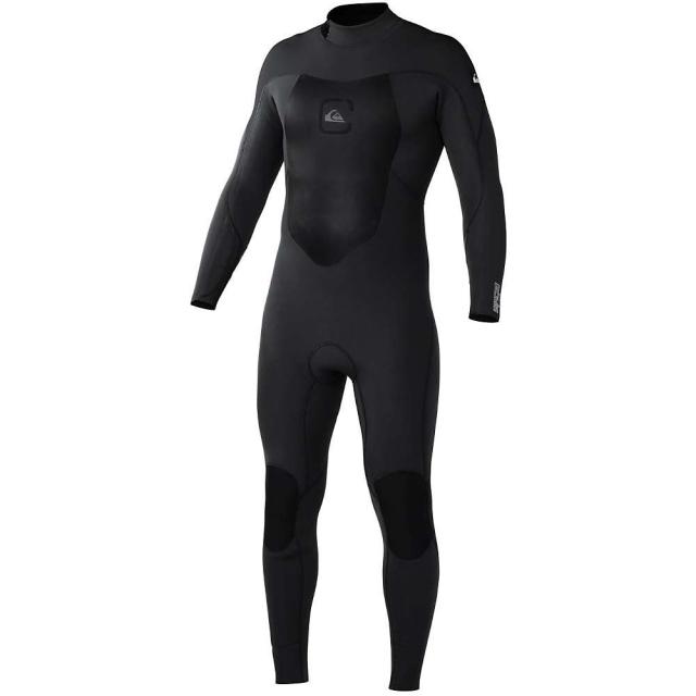 Quiksilver - Syncro 3/2 Full BZ Flatlock Wetsuit - Men's