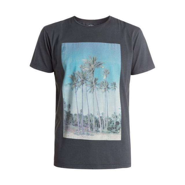 Quiksilver - Men's Hidden Logo Tee Shirt