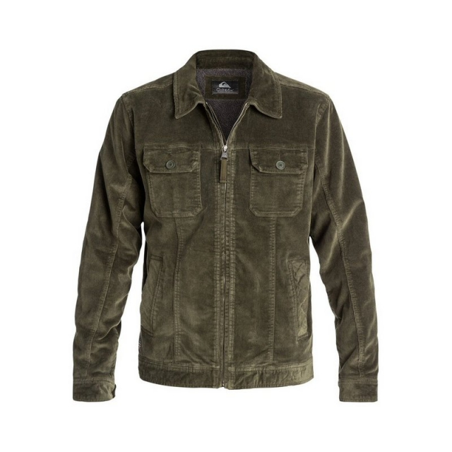 Quiksilver - Men's Santa Cruz 2 Stretch Corduroy Jacket