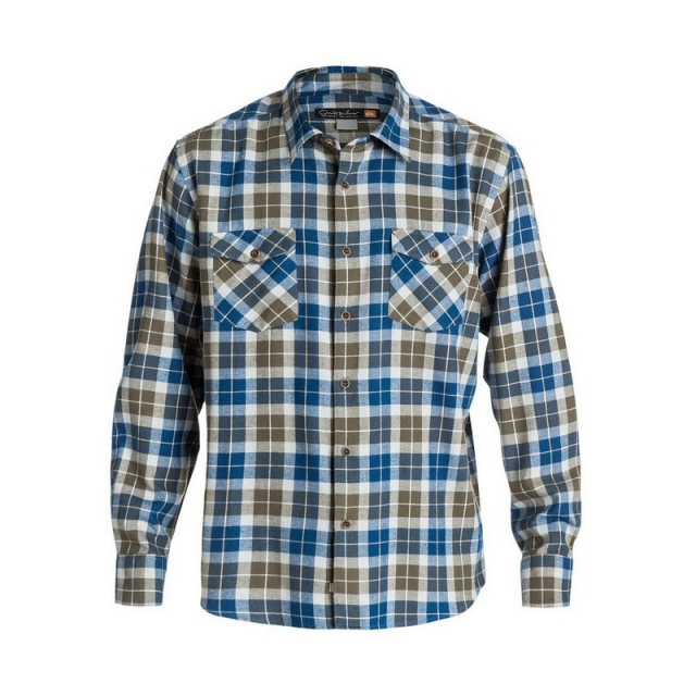Quiksilver - Men's Wade Creek Long Sleeve Flannel Shirt