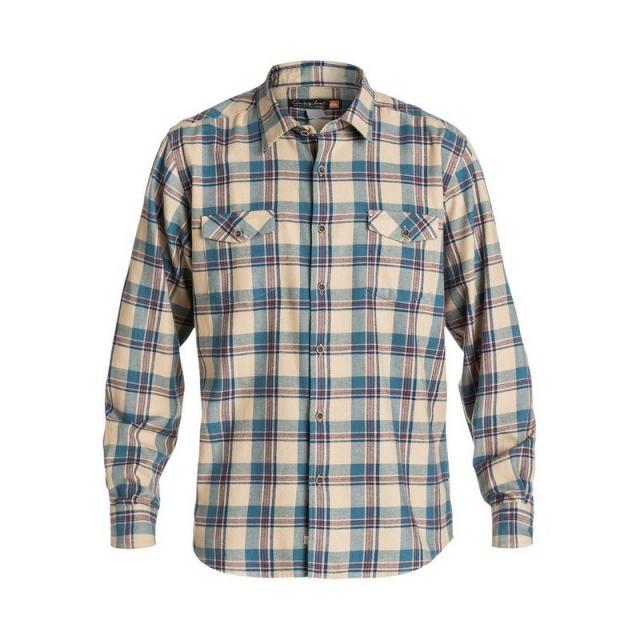 Quiksilver - Men's Forest Beach Long Sleeve Flannel Shirt