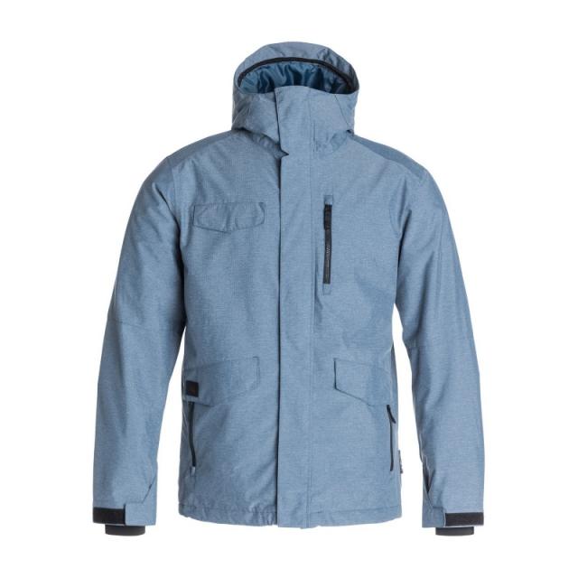 Quiksilver - Mens Raft Jacket - New Dark Denim Large