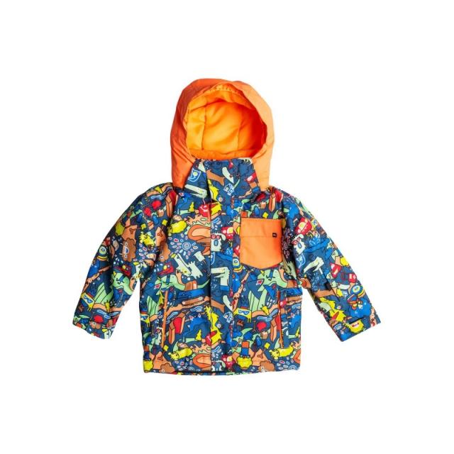 Quiksilver - Little Mission Jacket - Closeout Poinciana Plaid - Pattern
