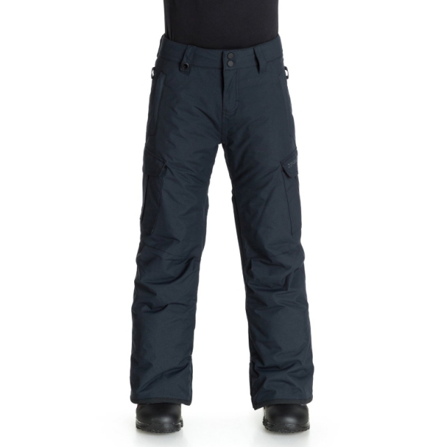 Quiksilver - Boys Mission Pant - Closeout Black Small