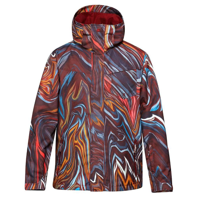 Quiksilver - Travis Rice Mission Printed Snowboard Jacket - Men's