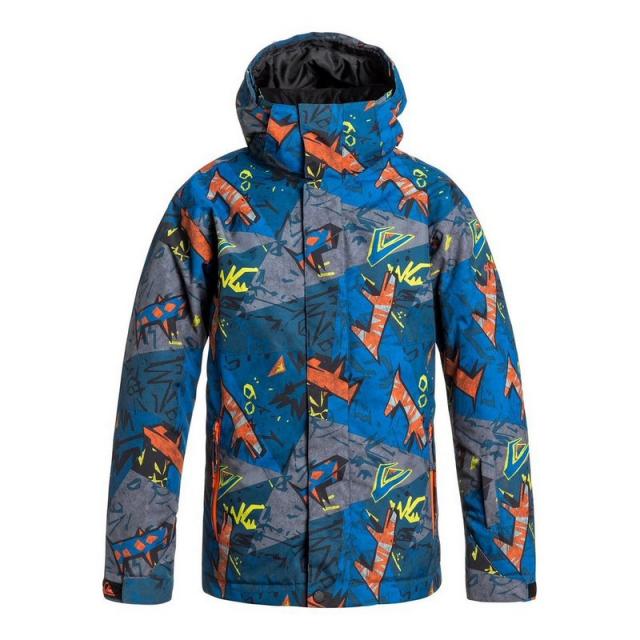 Quiksilver - Boys' Mission Print Jacket
