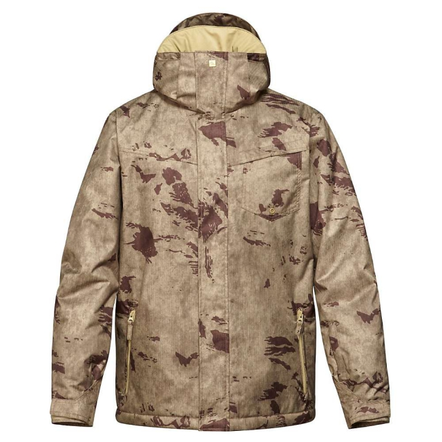 Quiksilver - Mission Printed Snowboard Jacket - Men's