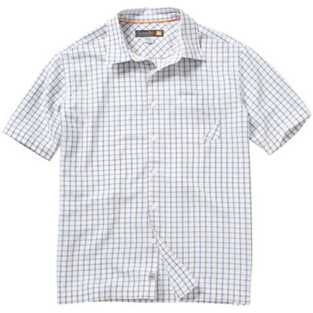Quiksilver - Tilbury Point Shirt Mens - White S