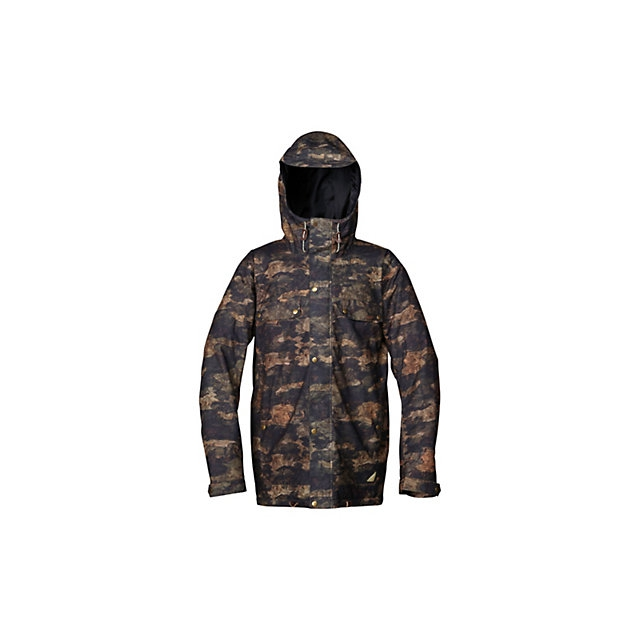 Quiksilver - Select All Mens Insulated Snowboard Jacket