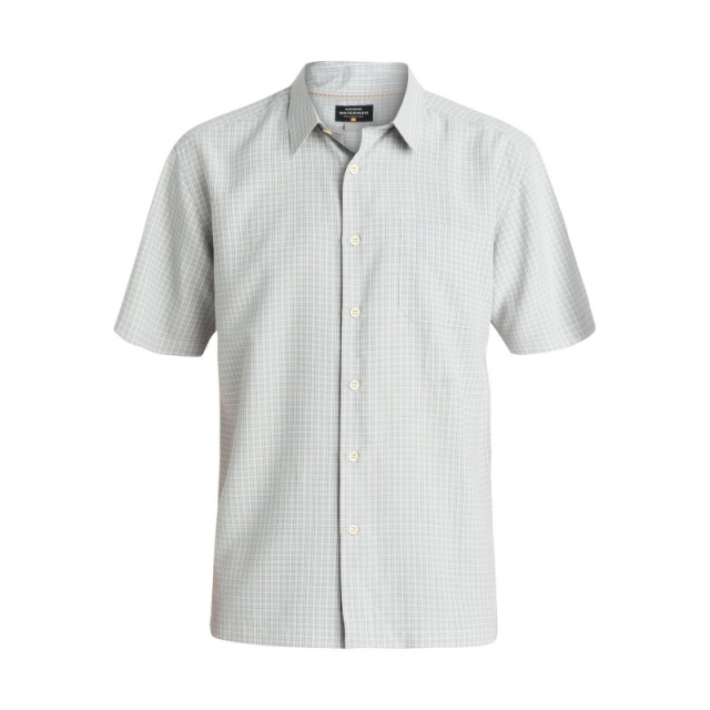 Quiksilver - Mens Buoy Short Sleeve Shirt - Closeout Highrise Medium