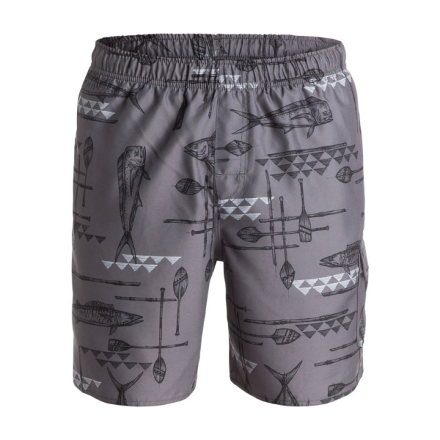 Quiksilver - Mens West Palm 18 in Volley Boardshort - Closeout Castlerock