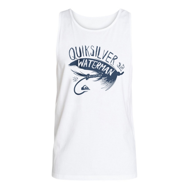 Quiksilver - Mens Fly Tank - Closeout White XL