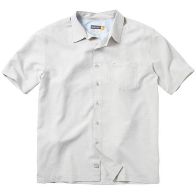 Quiksilver - Centinela 2 Short Sleeve Shirt Mens - Sandstone S