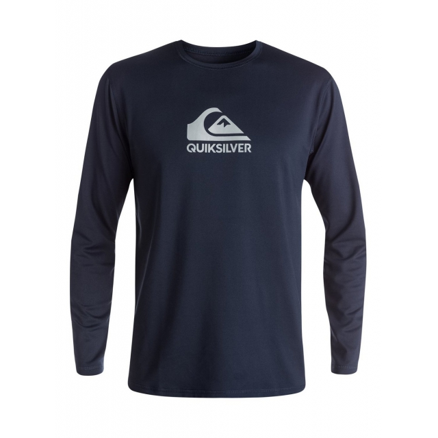 Quiksilver - Men's Solid Streak Long Sleeve Rashguard