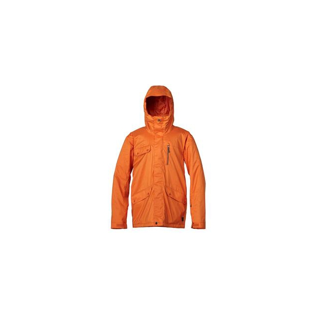 Quiksilver - Raft Insulated Snowboard Jacket Men's, Rust, XL