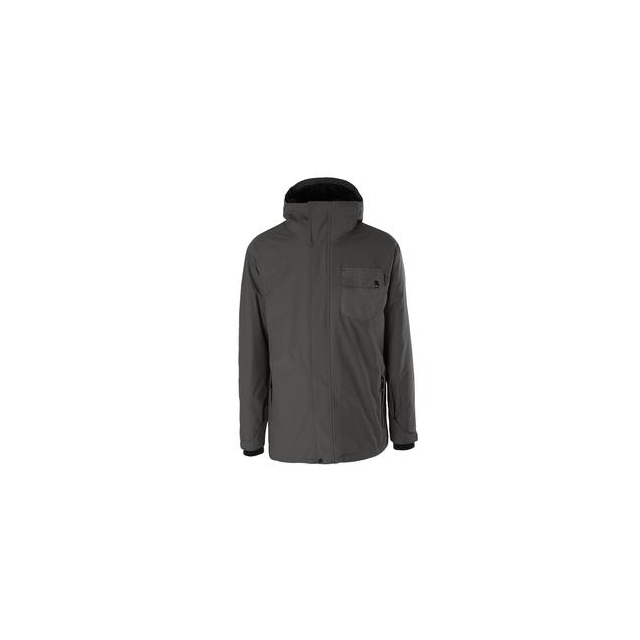 Quiksilver - Mission 3 in 1 Snowboard Insulated Jacket Men's, Iron Gate, L