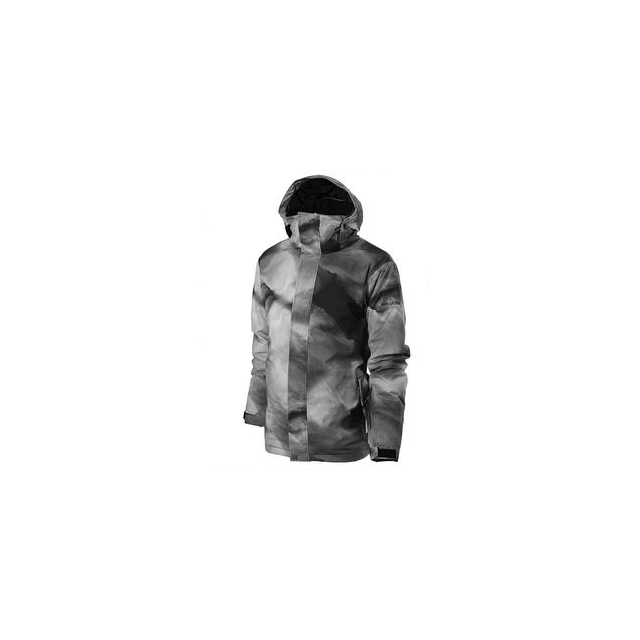 Quiksilver - Travis Rice Mission Printed Insulated Snowboard Jacket Men's, Fogfisher, L