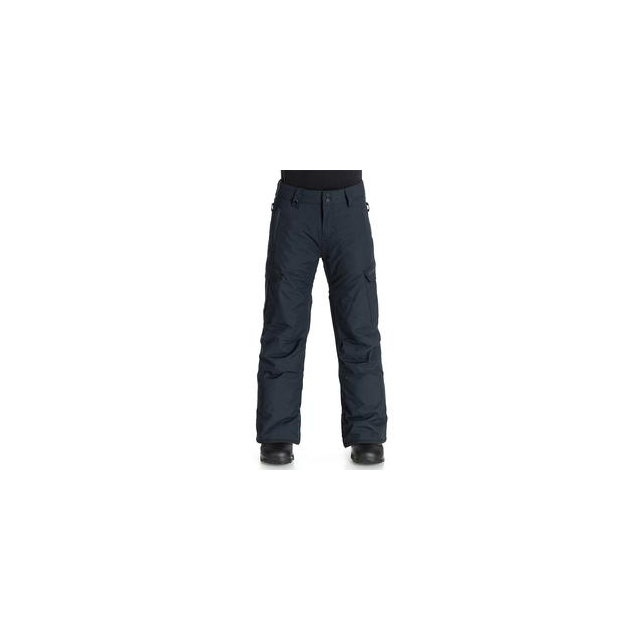 Quiksilver - Mission Insulated Snowboard Pant Boys', Black, L