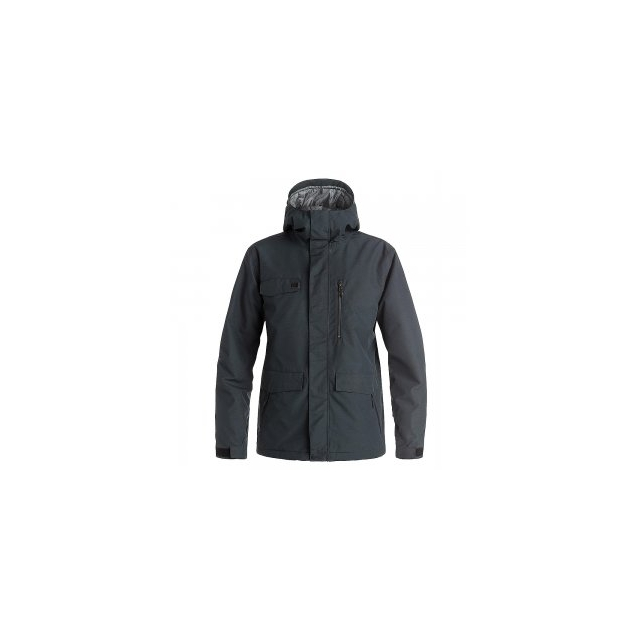 Quiksilver - Raft Insulated Snowboard Jacket Men's, Black, L