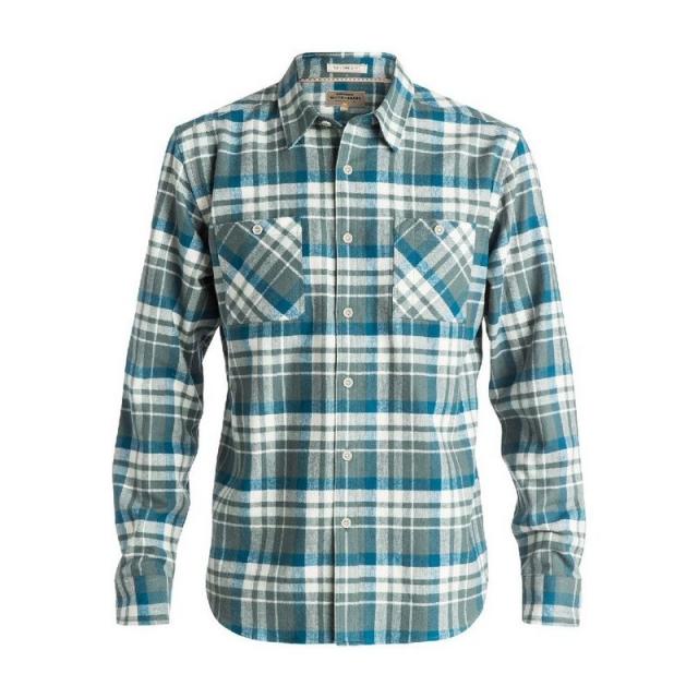 Quiksilver - Men's Red Eye Flannel Long Sleeve Shirt