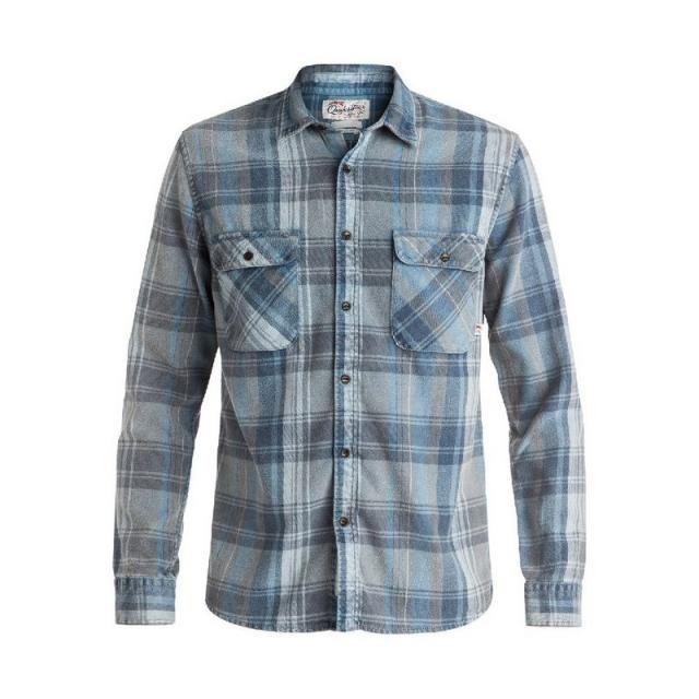 Quiksilver - Men's Happy Flannel Long Sleeve Shirt