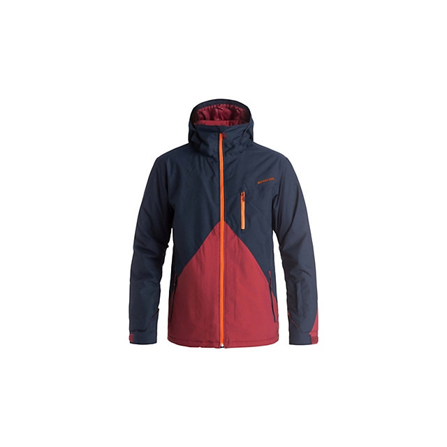 Quiksilver - Mission Colorblock Mens Insulated Snowboard Jacket