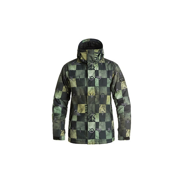 Quiksilver - Mission Printed Mens Insulated Snowboard Jacket
