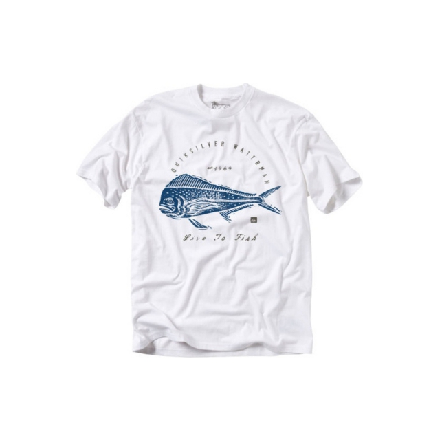 Quiksilver - Quiksilver Men's Live to Fish T-Shirt - Closeout