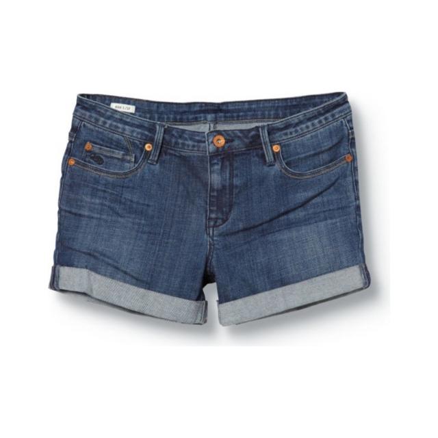 Quiksilver - Quiksilver Women's Gypsy Tour Buckler Blue Shorts - Closeout
