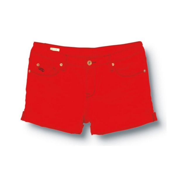 Quiksilver - Quiksilver Womens Gypsy Tour Crimson Shorts - Closeout