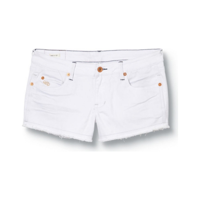 Quiksilver - Quiksilver Womens Lamrocks Bright White Shorts - Closeout