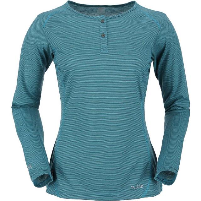 Rab - Women's MeCo 140 Long Sleeve Zip Tee