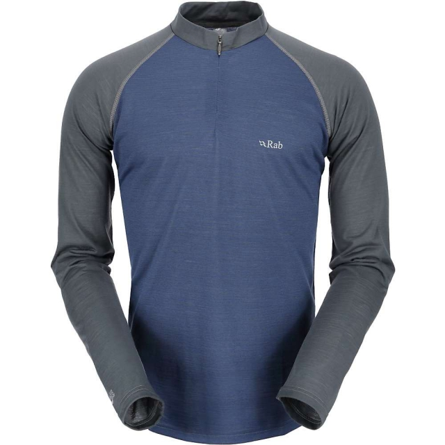 Rab - Men's MeCo 140 Long Sleeve Zip Tee
